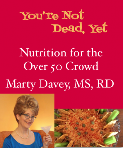 You're Not Dead, Yet: Nutrition for the Over 50 Crowd