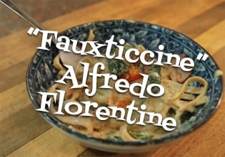"""Fauxticcine"" Alfredo Florentine"