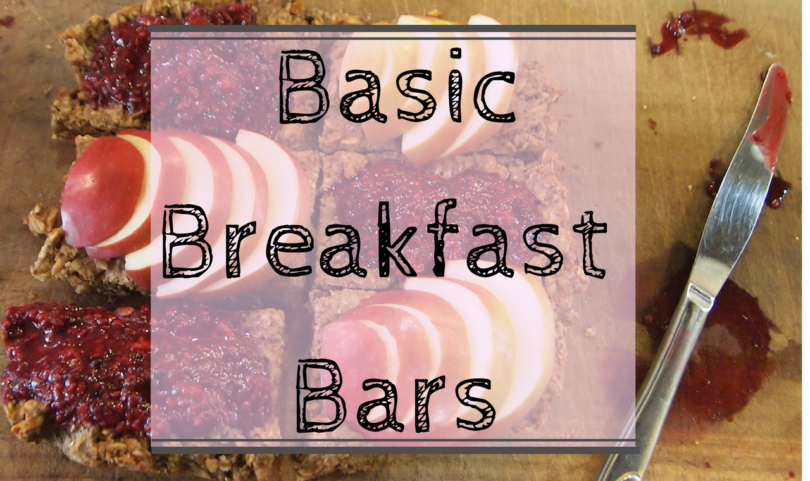 Basic Breakfast Bars