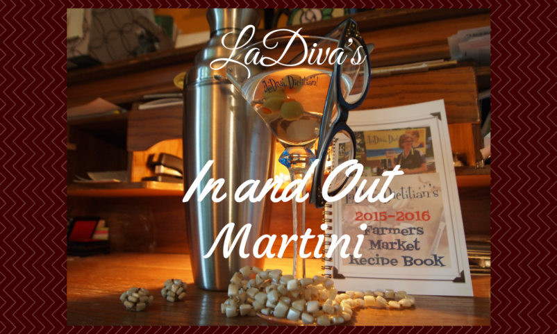 The LaDiva In and Out Martini