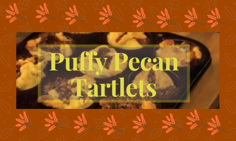 Puffy Pecan Tartlets Recipe