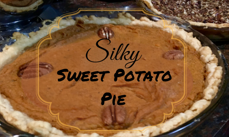 Silky Sweet Potato Pie Recipe